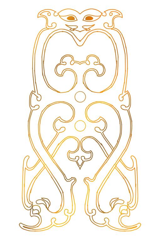 ⭐西汉-鎏金铜钮钟 (部分)...