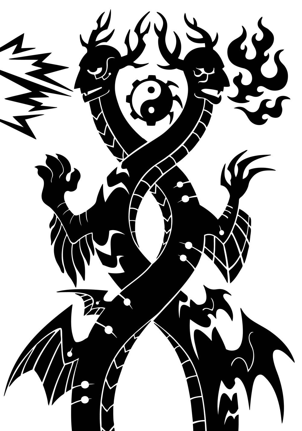 亚大伯斯与麦卡恩 - 中国神话风