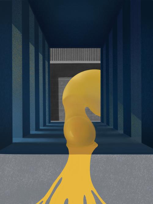逃跑的蛋黄