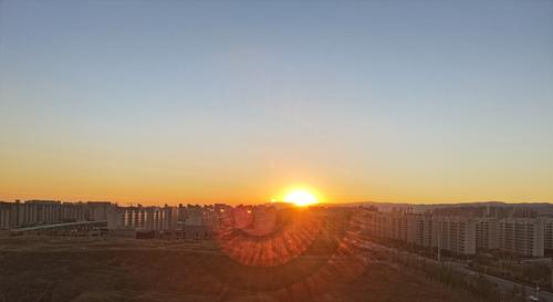 🌅夕阳剪影