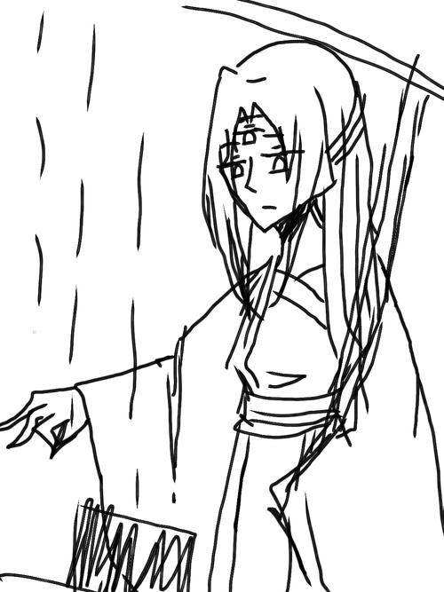 """""""小黄,你最淋不得雨了,怎么不..."""
