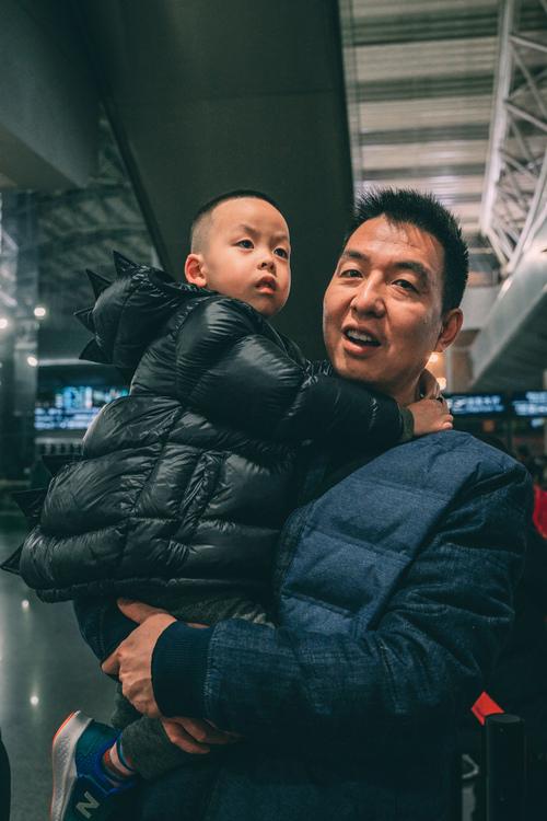 2020年1月,宝哥和他爹